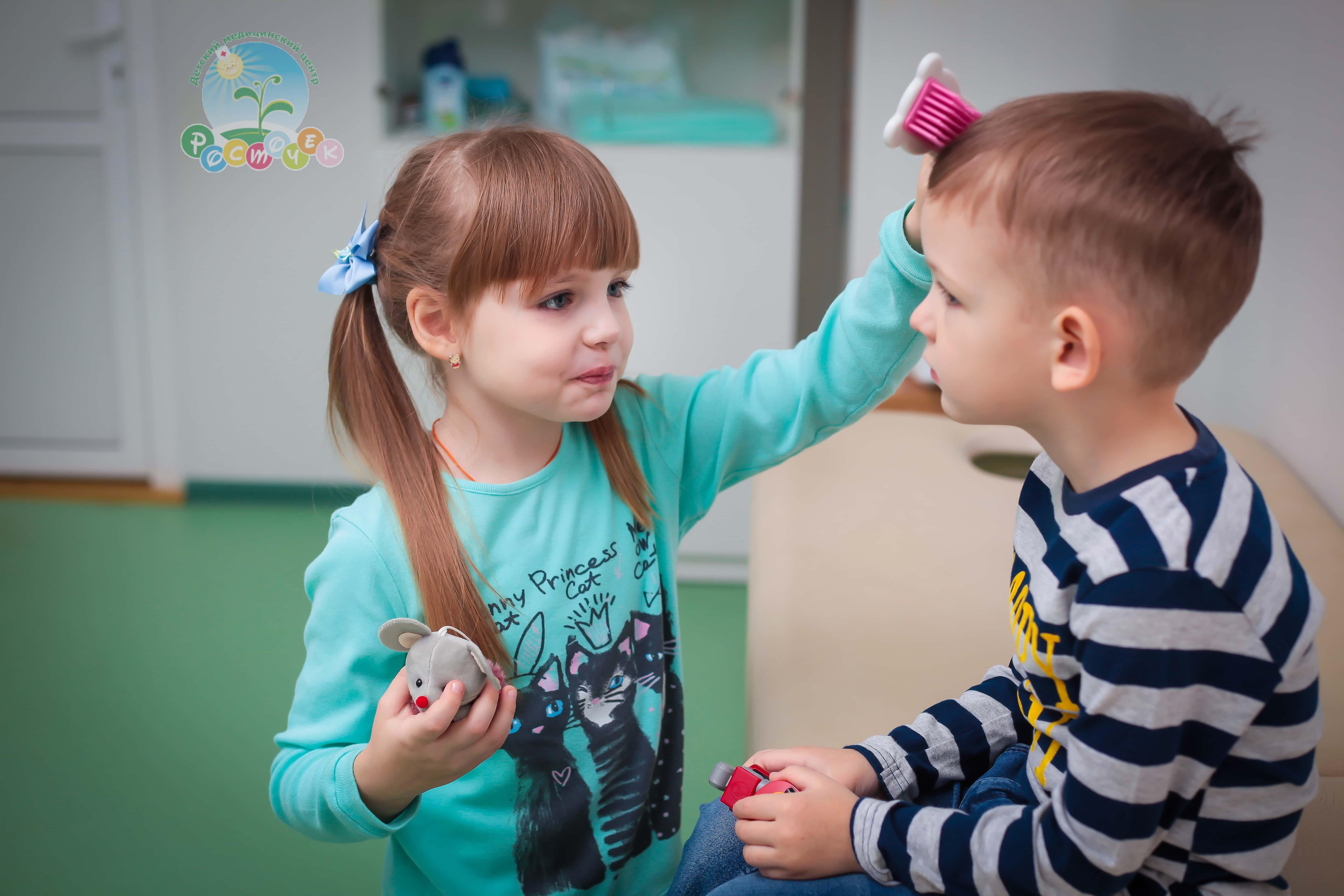 Выпадают волосы у ребенка ДМЦ «Росточек»